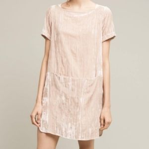 Anthropologie  Floreat crushed Velvet  dress NWT